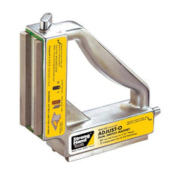 Strong Hand Tools Adjust-O Magnet Square with Dual ON/OFF Switch-MS2-80