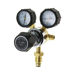TESUCO TWIN GAUGE OXYGEN REGULATOR
