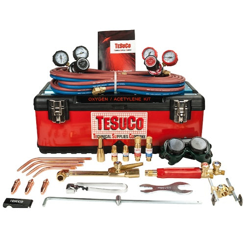 Tesuco OXYGEN / ACETYLENE Gas Cutting & Welding Kit