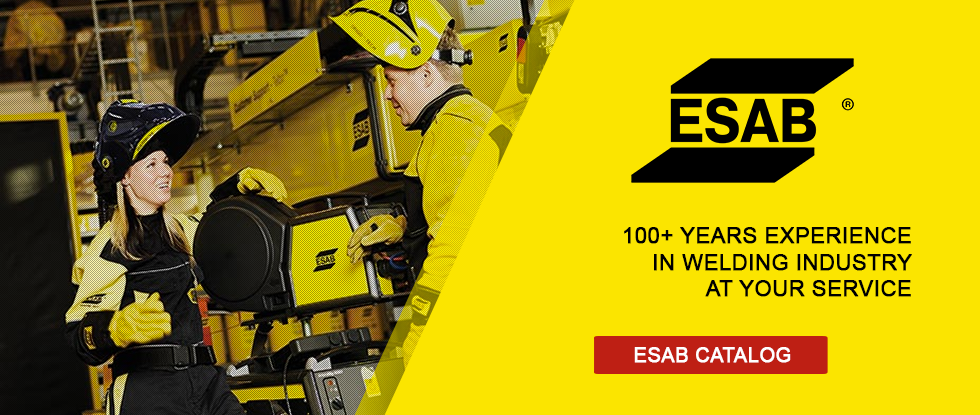 Esab - 100 years of welding experience