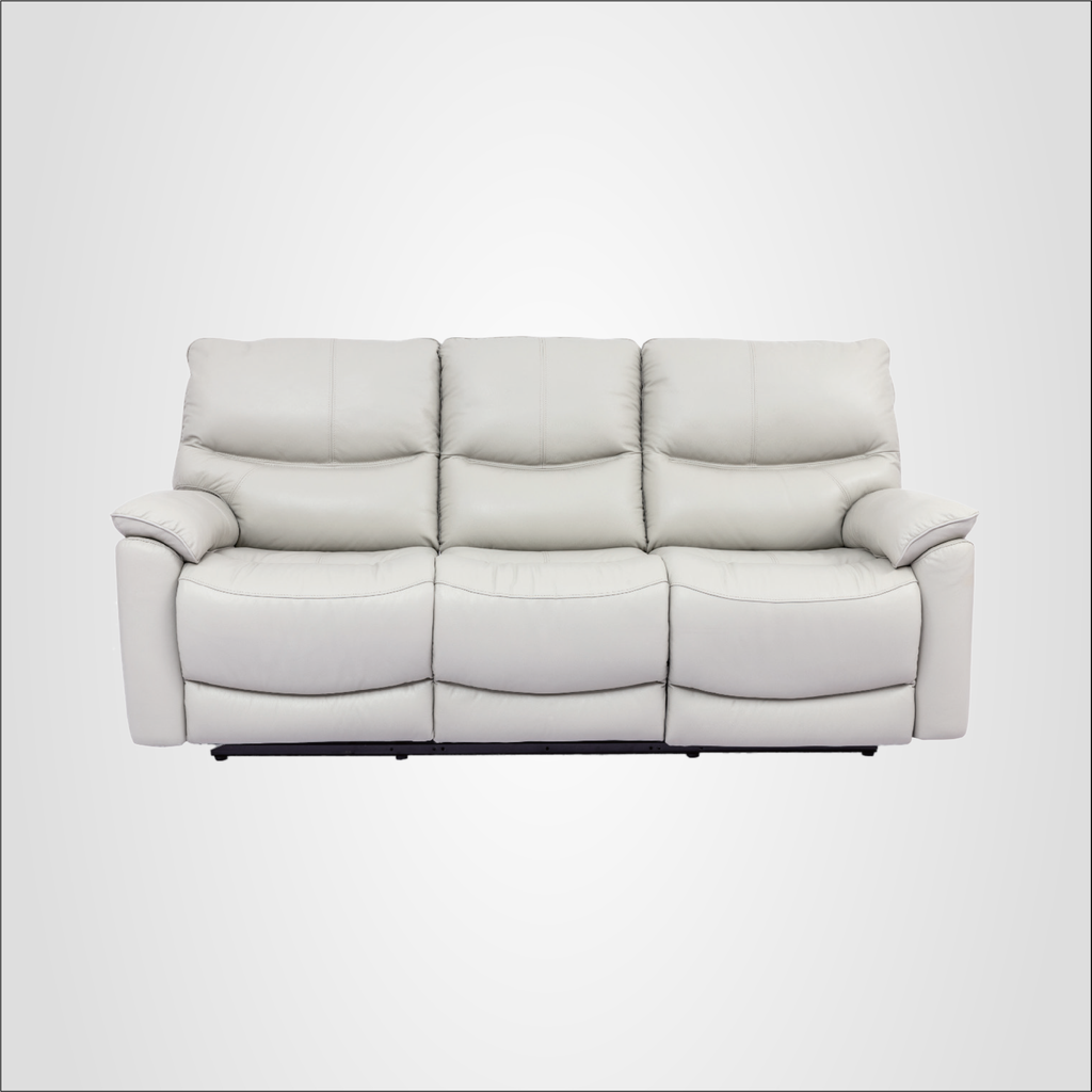 Leica Recliner Sofa, Half Leather