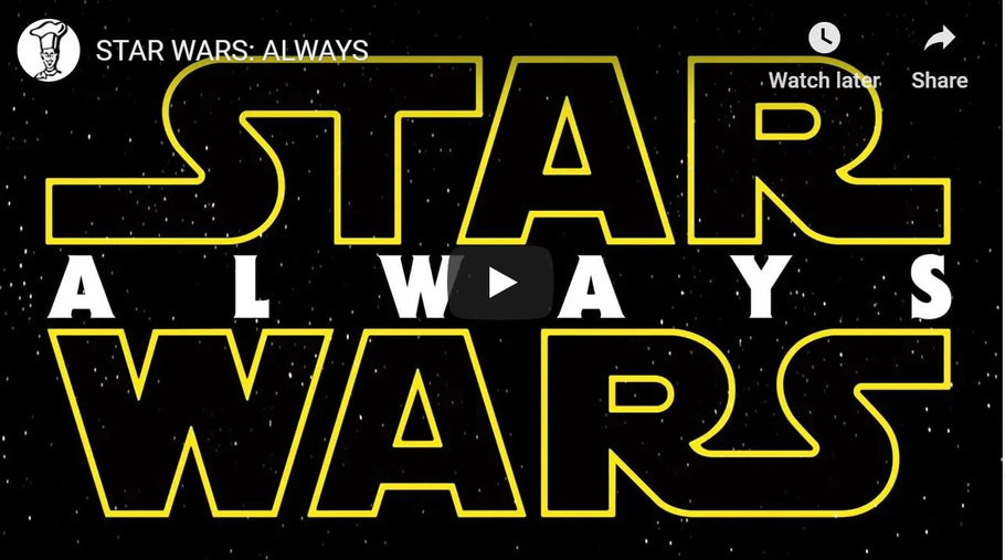 Star Wars Always - Topher Grace & Jeff Yorkes Trailer edit!!!!