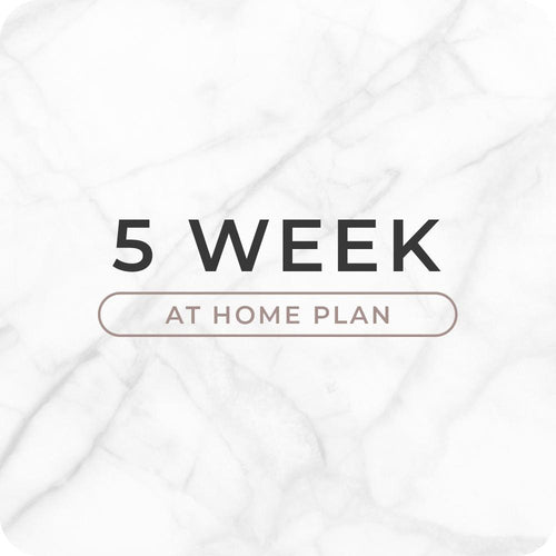 5 Week Home Workout Plan