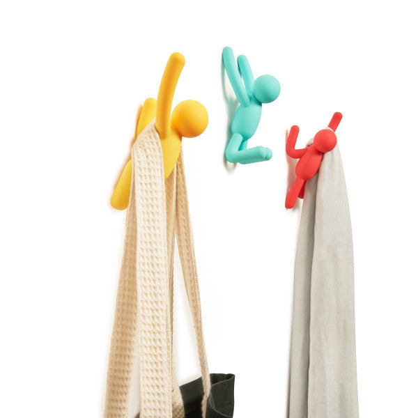 Kapstokken Wandhaken Buddy - Multicolor - Set van 3 - Umbra