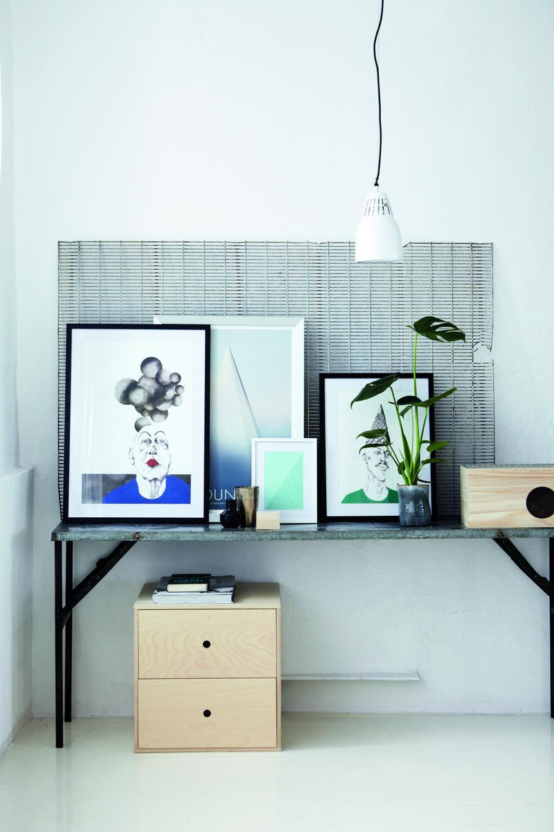 Hanglamp Pillar - Groen - E27 - House Doctor