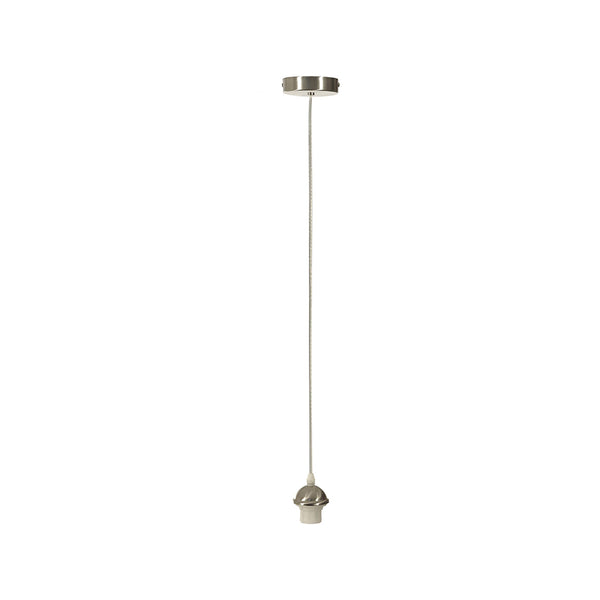 Pendellamp Desna - Zilver - Light & Living
