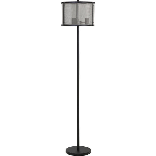 Vloerlamp - Vidal - 2 Lights - Zwart - Light & Living
