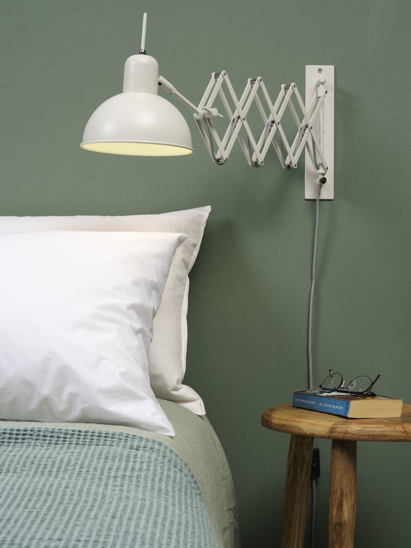Wandlamp - Aberdeen - Mat wit - It's About RoMi