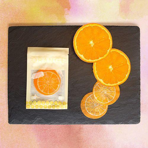 Orange Slice Eye Mask