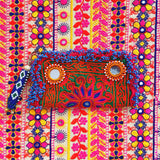 Cartera o Clutch Tribal y Gitano