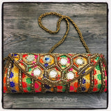 Bolsa / Clutch Boho de India