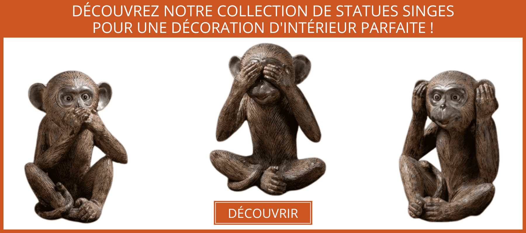 collection statue singes