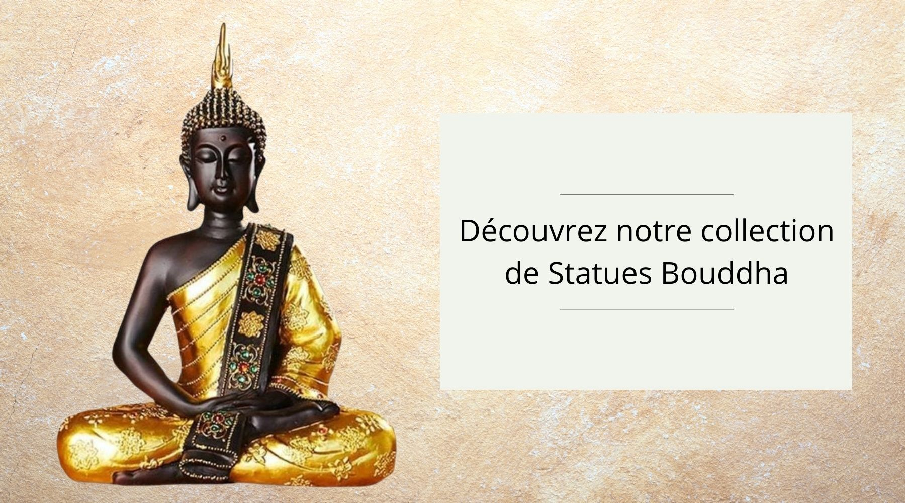 Collection Statues Bouddha