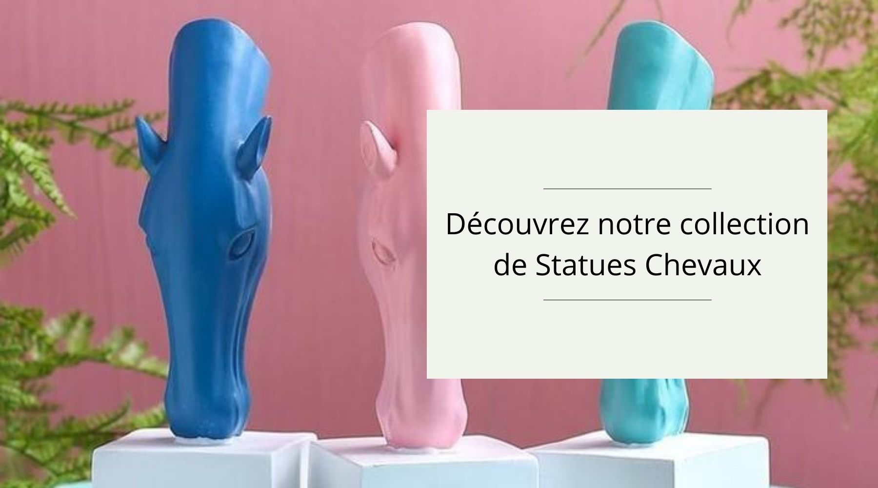 Collection Statue Chevaux
