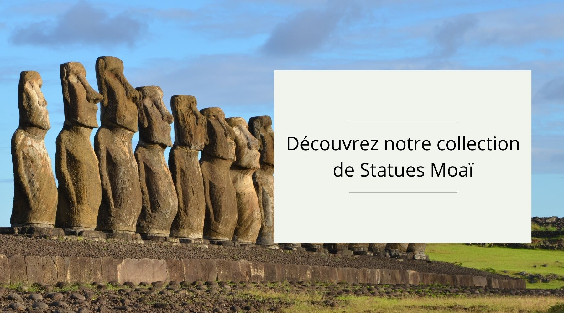 Collection Statues Moaï