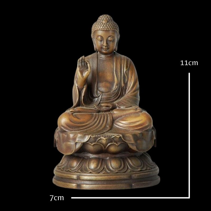 Taille statue bouddha