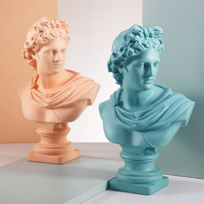 Duo statue apollon
