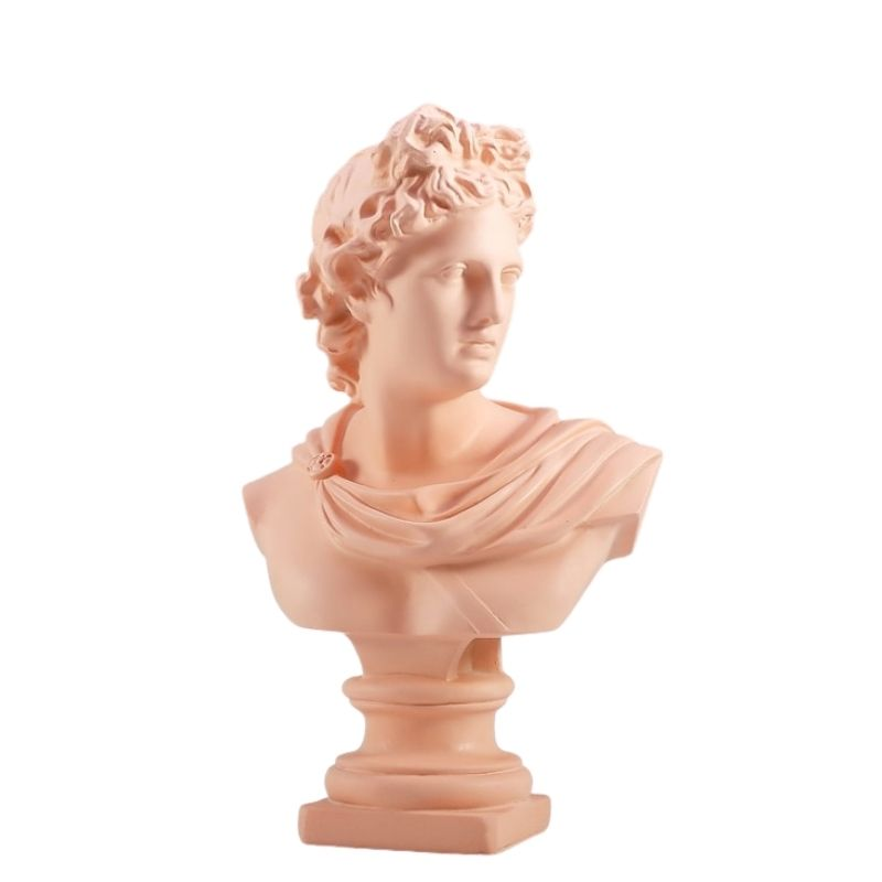 Statue Grecque Apollon Rose