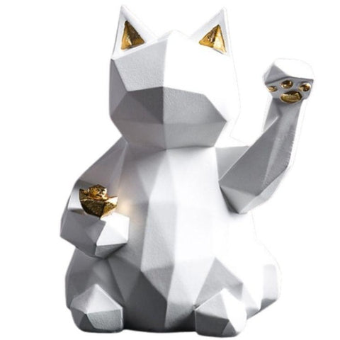 Statue Chat Origami Japon