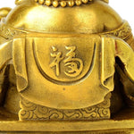 Statue Bouddha<br> Rieur d'Or