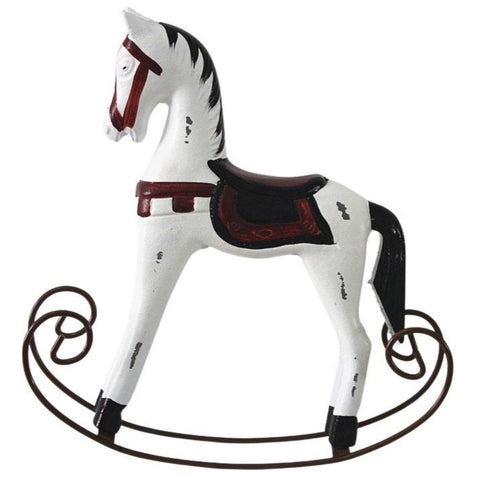 Statue Cheval Bois Scandinave