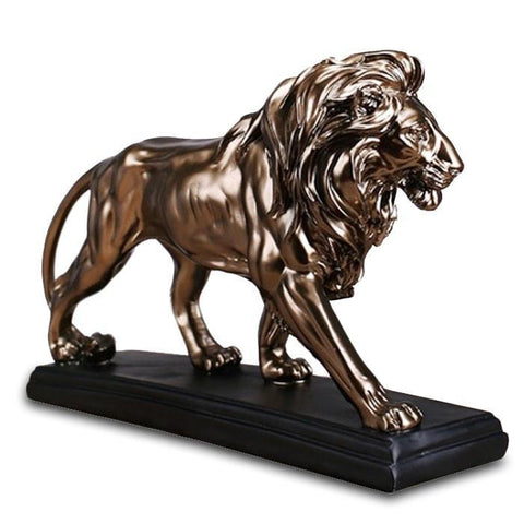 Statue Lion Or