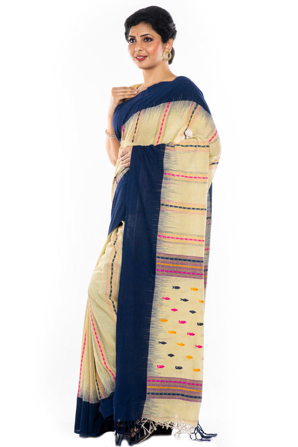 Cotton Weaved Saree