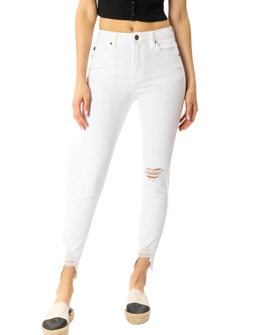 On The Skinny White Jean