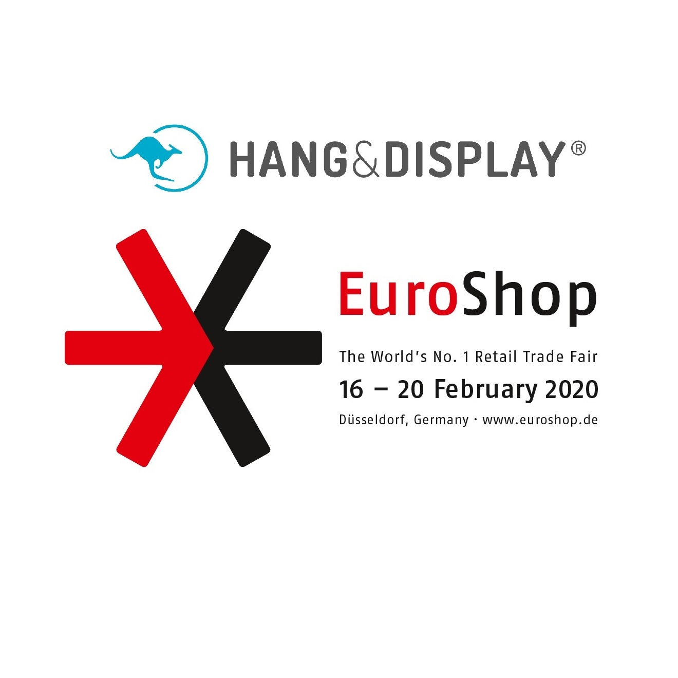 euro shop 2020 hang and display