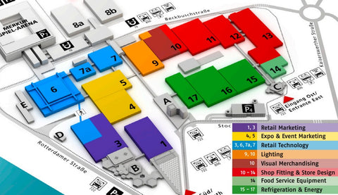 euroshop 2020 plan map