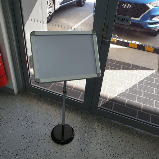A3 Aluminum Framed Display Stand FRA-SH1-Show Card Stand-Hang and Display