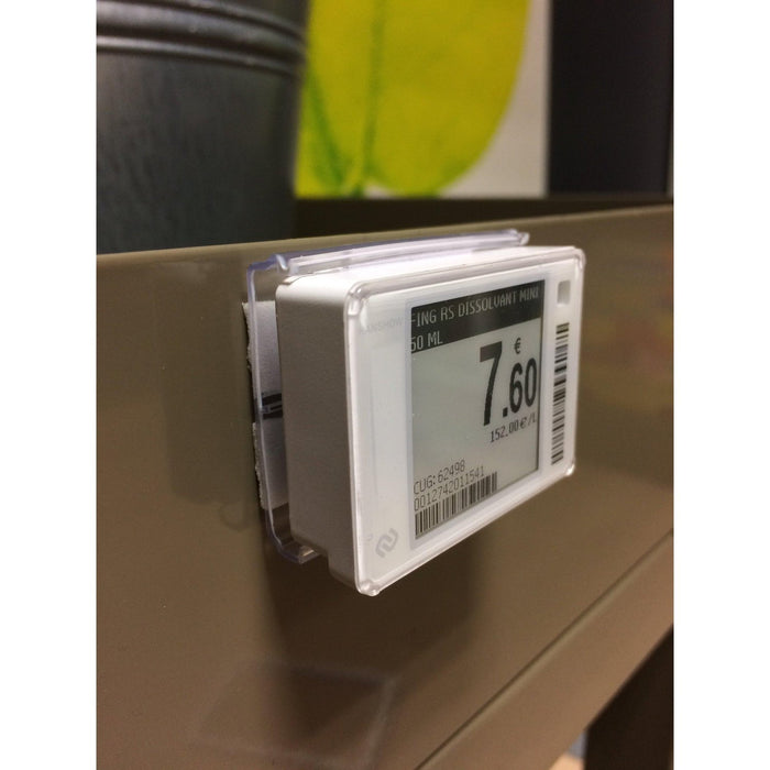 Adhesive Individual Electronic Label Holder for Hanshow & Pricer-Electronic Label Holder-Hang and Display