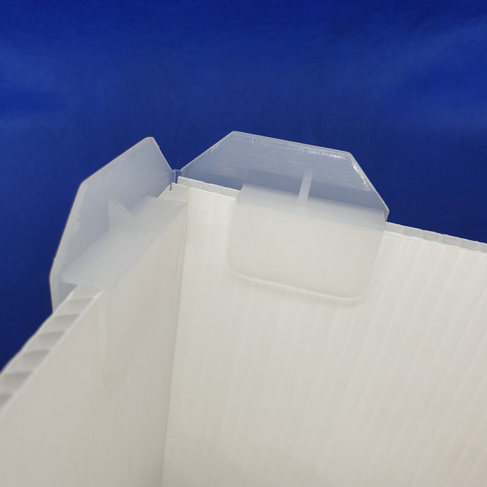 Adjustable Angle Foot For Cardboard Displays COR4-Corrugated Cardboard Display Accessories-Hang and Display