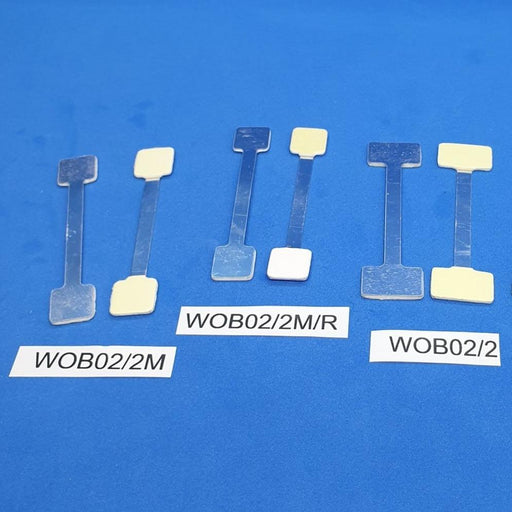 Aluminum Wobbler Stem Flexible Bendable with Adhesive Pads WOB2-Aluminum Wobblers-Hang and Display
