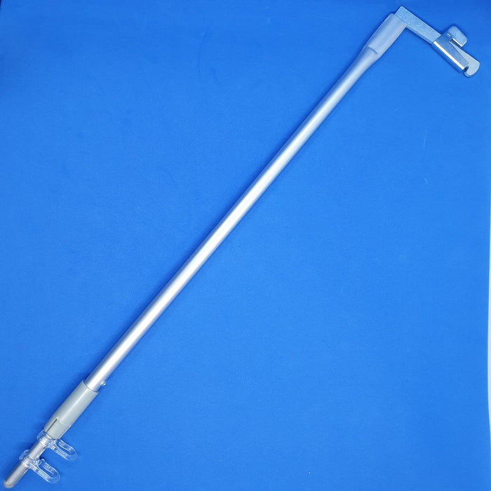 Gondola Post Banner Arm Sign Holder with Telescopic Rod and 2 Hooks BAN-AS-Banner Holders-Hang and Display