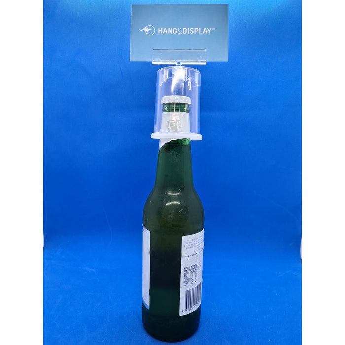 Bottle Top Ticket and Sign Holder