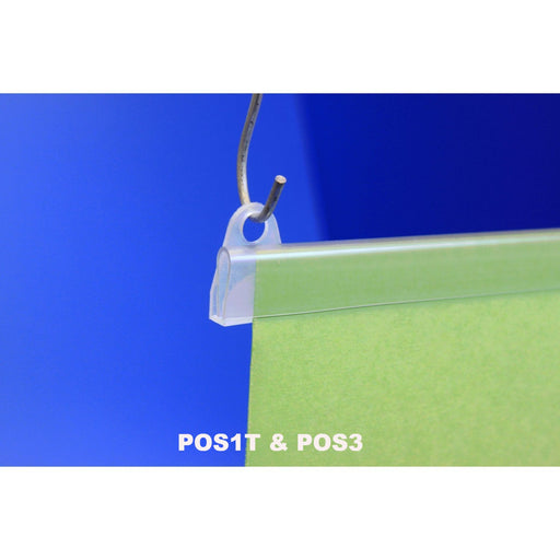 Budget Poster Rail Kit POS1-Poster Profiles-Hang and Display