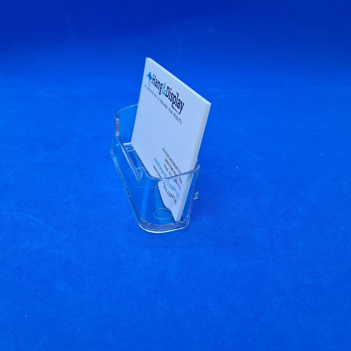 Business Card Holder Acrylic Counter-top Landscape