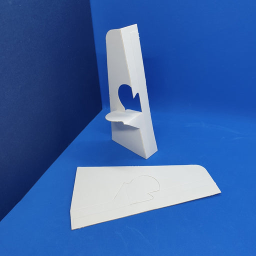 Cardboard Strut Display Stand Back Support with Adhesive BAC1 - Hang and Display