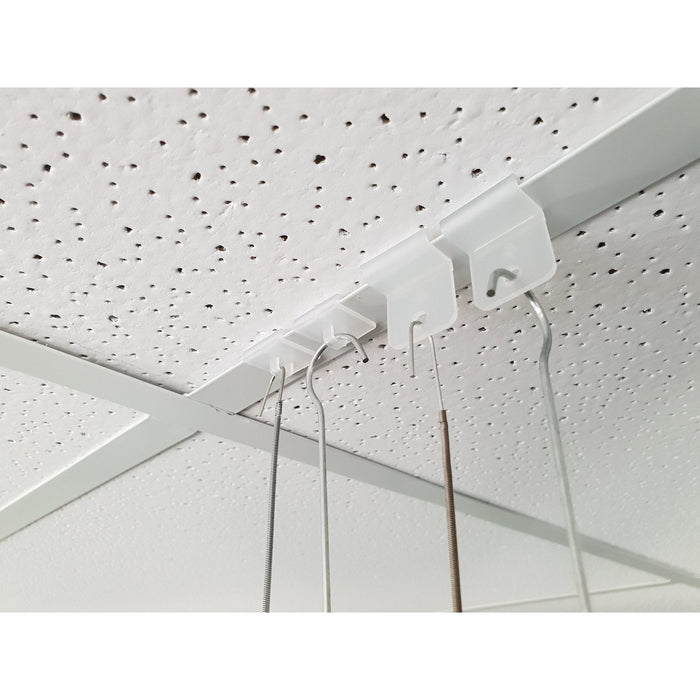 Ceiling Grid T-Rail Hook Plastic HAN7 HAN8-Ceiling Hanging Accessories-Hang and Display
