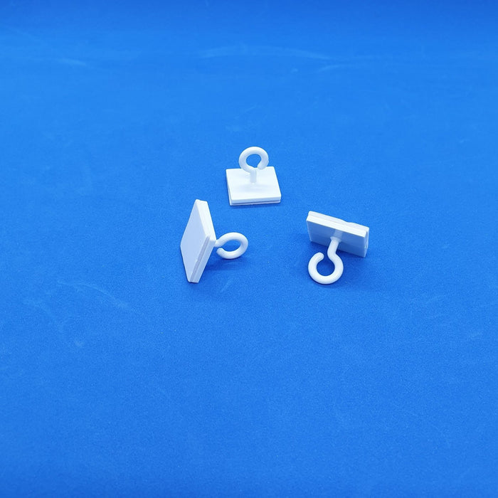 Ceiling Hanger Plastic Hook with Adhesive Base HAN35