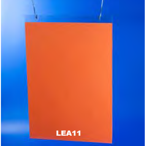 Clear Acrylic Sign Holder for Wall or Ceiling LEA11 - Hang and Display