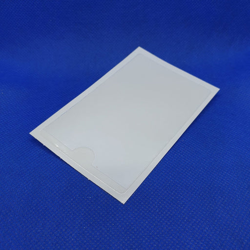Clear Adhesive Business Card Holder BAD15 - Hang and Display