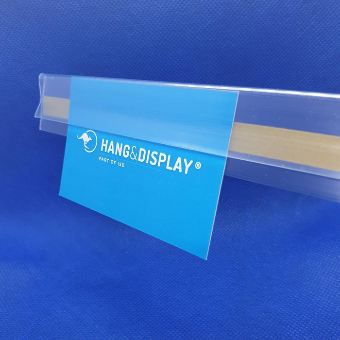Clear Poster Edge and Ticket Holder with Adhesive Backing CPE-Poster Profiles-Hang and Display