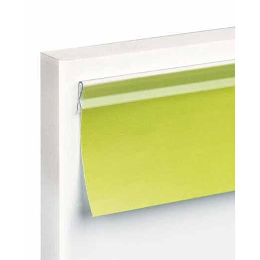 Clear Poster Edge and Ticket Holder with Adhesive Backing CPE - Hang and Display