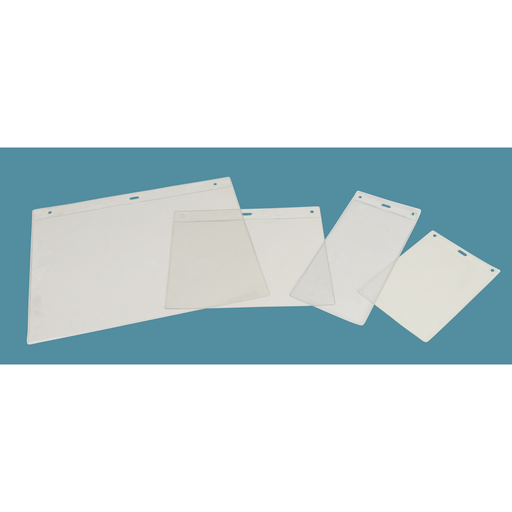 Clear PVC Pockets and Sleeves POC1 - Hang and Display