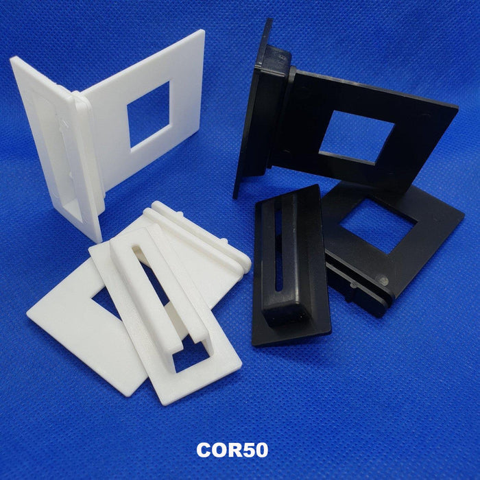 Corro Shelf Support Clip for Corrugated Cardboard Displays COR50-Corrugated Cardboard Display Accessories-Hang and Display