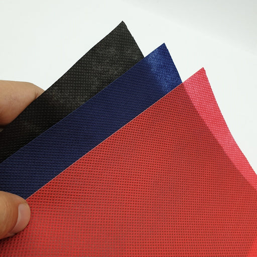 Decorative Christmas Wrap Fabric Red, Blue, Black 100 Meters