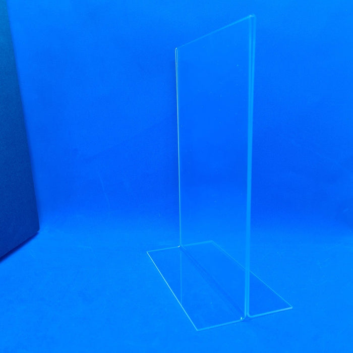 Double Sided Clear Counter Top Sign Holder & Menu Stand A5