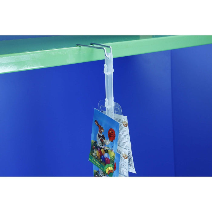 Double Sided Plastic Hang Strip 24 Station 720mm SEL11 - Hang and Display